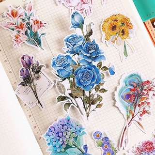 ⏰ Planner Stickers — Flowers