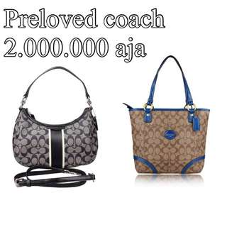 Preloved Coach 2jt