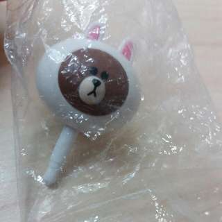 兔兔熊大 耳機塞 贈品