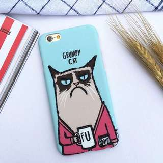grumpy cat phone case 😺