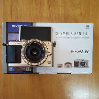 Olympus Pen Lite E-PL6 Camera