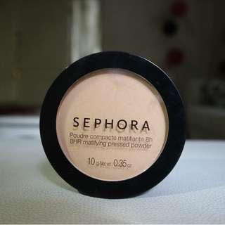 Sephora Matifying Pressed Powder Bedak Compact Sephora Matte