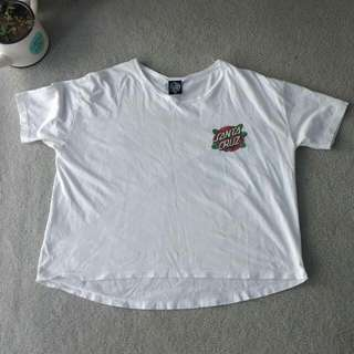 Santa Cruz White Shirt