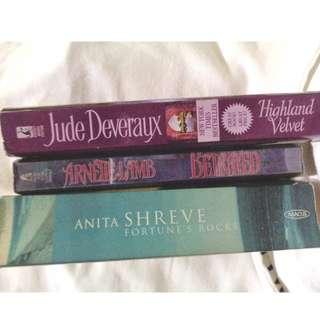 Anita Shreve, Jude Deveraux, Arnette Lamb (Book Bundle 1)