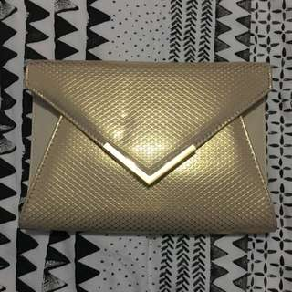 Colette By Colette Hayman Gold Clutch