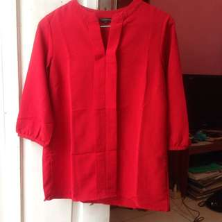 [The Executive] Red Blouse