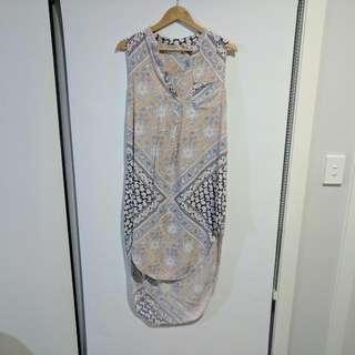 Lily Whyt Hi-Lo Dress Size 10