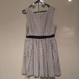 Navy Star Dress by Karen Walker