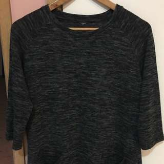 Grey Long Top-size 16