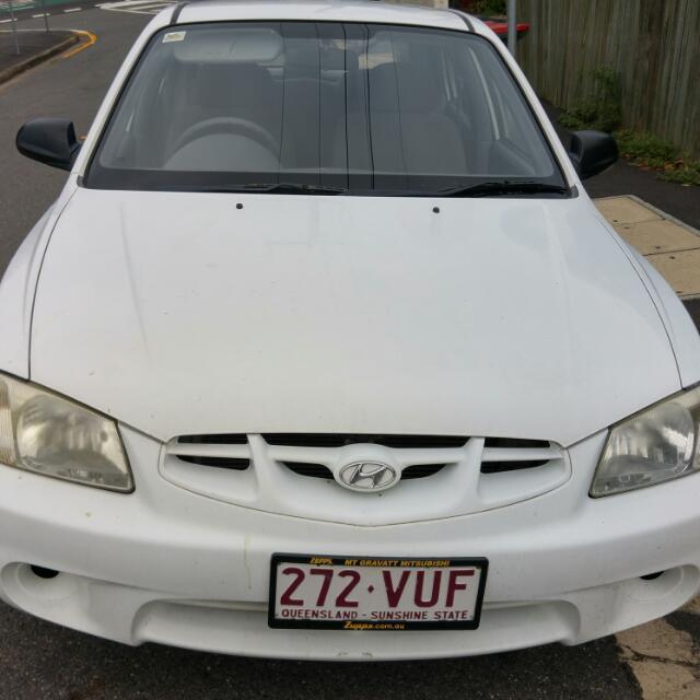2001 Hyundai Accent Hatchback Auto Car
