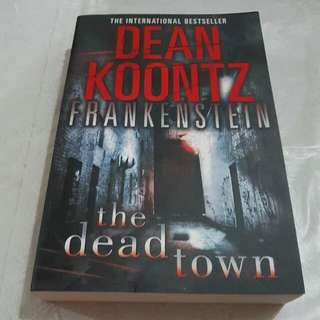 Dean Koontz Frankenstein The Dead Town<BN><INSTOCK>