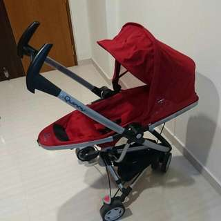Quinny Stroller And Maxi Cosi Car Seat