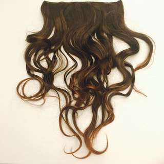 Chestnut Brown Hair Extension 19 Inches
