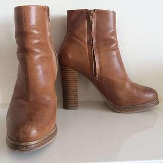 Brand New Wittier Heel Boots