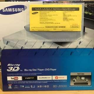 Samsung Blu Ray Player BD-J5500