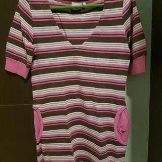 Hello Kitty Striped Blouse