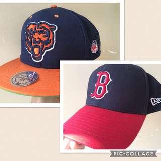 MLB紅襪隊及NFL芝加哥熊棒球帽
