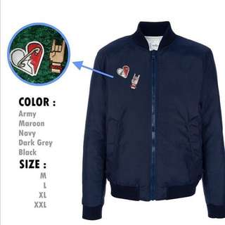 Jaket Bomber 5SOS Limited Edition