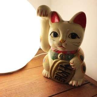 日本老招財貓