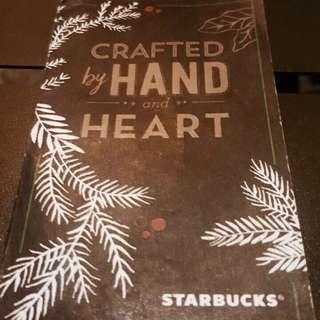 SALE! 2017 Moleskin Starbucks Planner