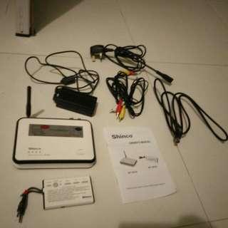 Wireless AV and TV Set For Shinco Portable DVD Player