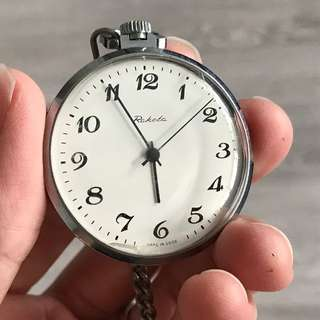Vintage Roketa USSR-made Pocket Watch