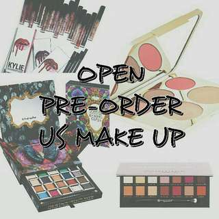 Open Pre Order US Make Up