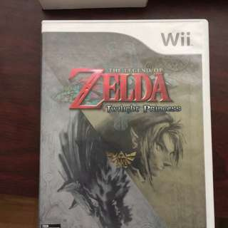 Nitendo Wii Legend Of Zelda Twilight Process Brand New