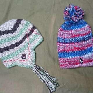 Volcom / Burton毛帽