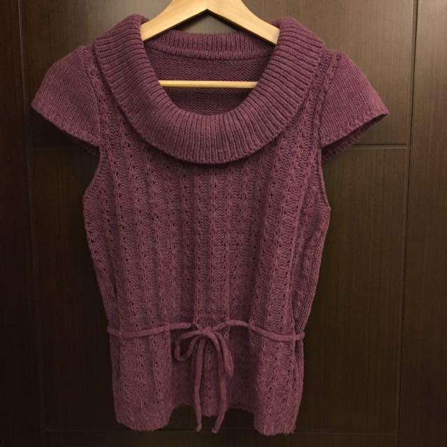 《2手商品》紫色毛衣