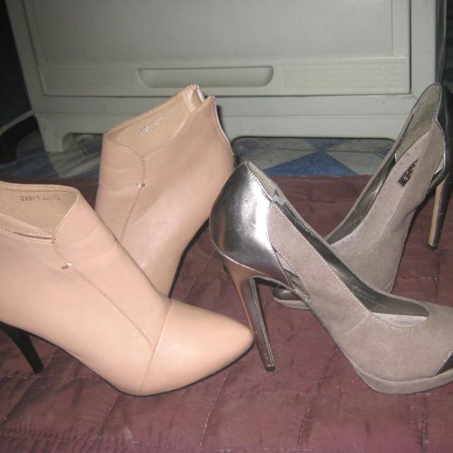 2 Branded Heels For Only 1k  Topshop&mansbale