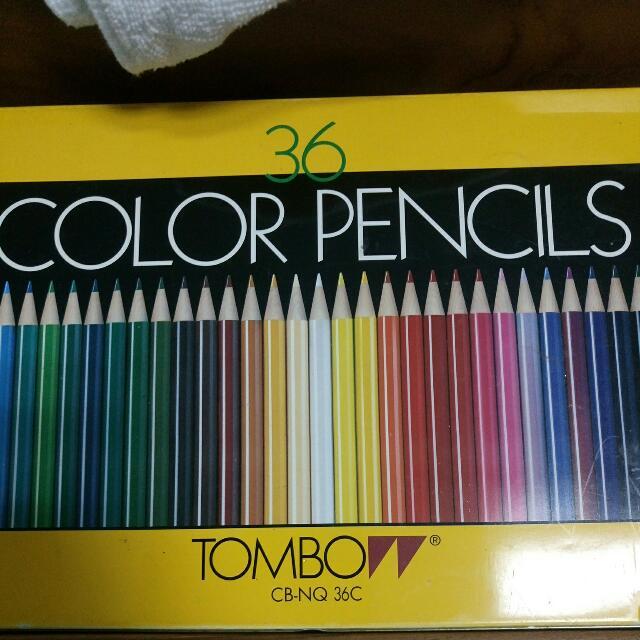 36色色鉛筆