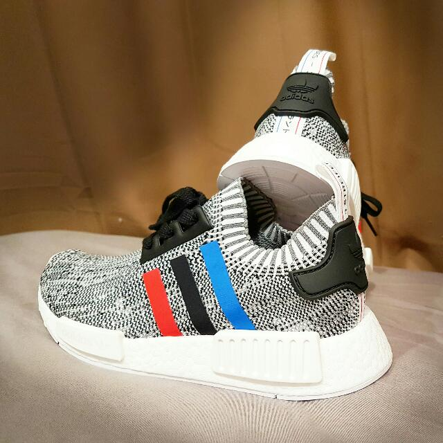 the best attitude eee05 2a594 Adidas NMD Tricolor White UK4.5/US5