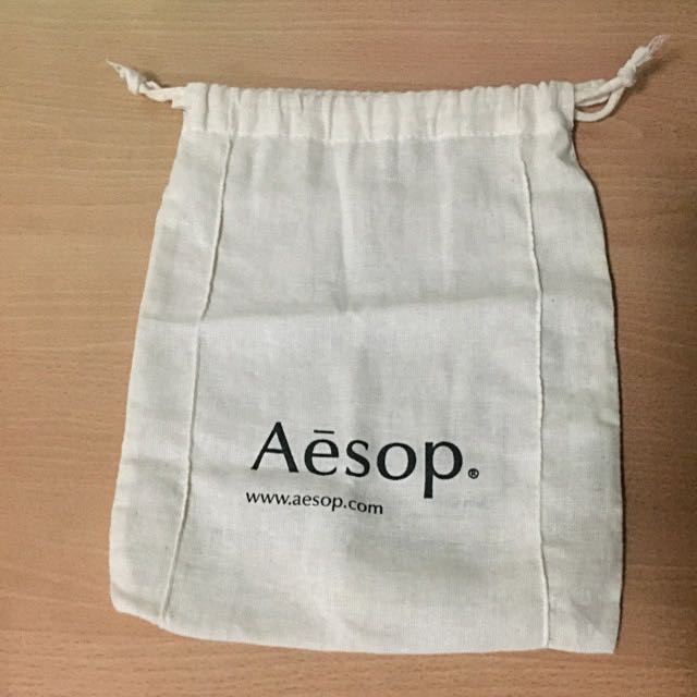Aesop Draw String Multipurpose Bag