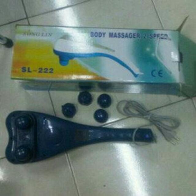 Alat Pijat Hammer DualHead Songlin/ Pijat 2 Kelapa Ha