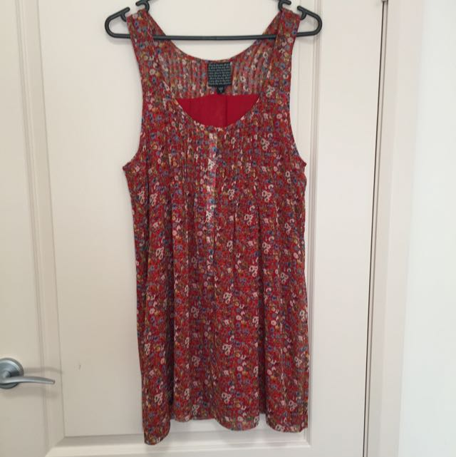 Alice in the Eve Sheer Floral Dress