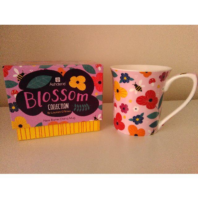 Ashdene Blossom Collection New Bone China Mug