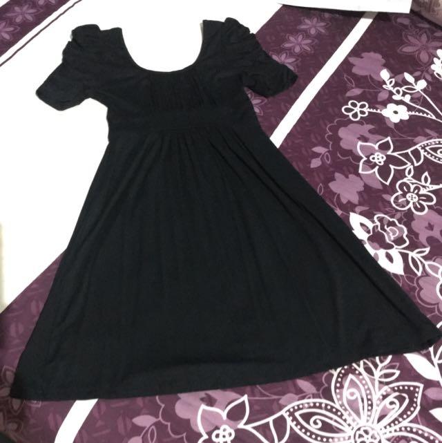 A/t Exchange Black Dress