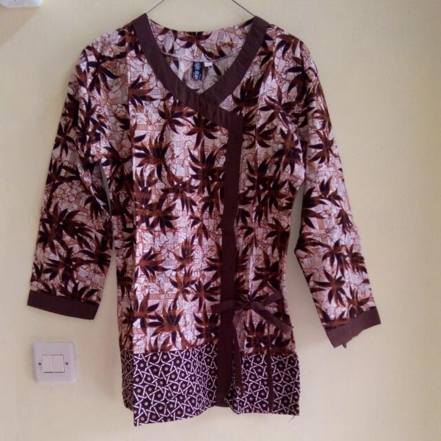 Atasan Batik Kimono
