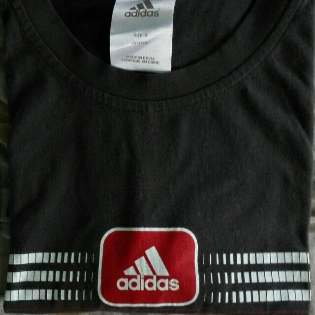 Authentic Adidas Round Neck Shirt