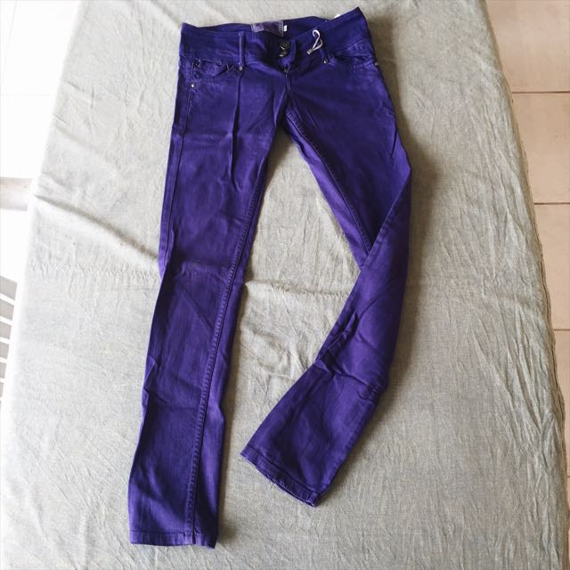 Authentic Bershka Violet Pants