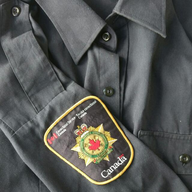 Authentic Canadian Correctional Facility Officer Shirt
