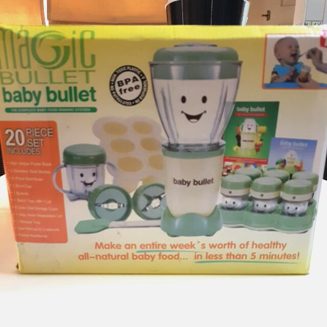 Baby Bullet Baby Food Making System