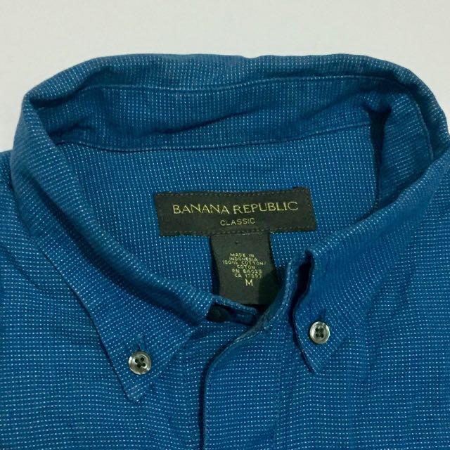 Banana Republic Blue Long Sleeves