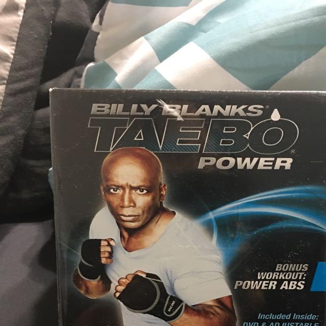 Billy Blanks Tae Bo Dvds