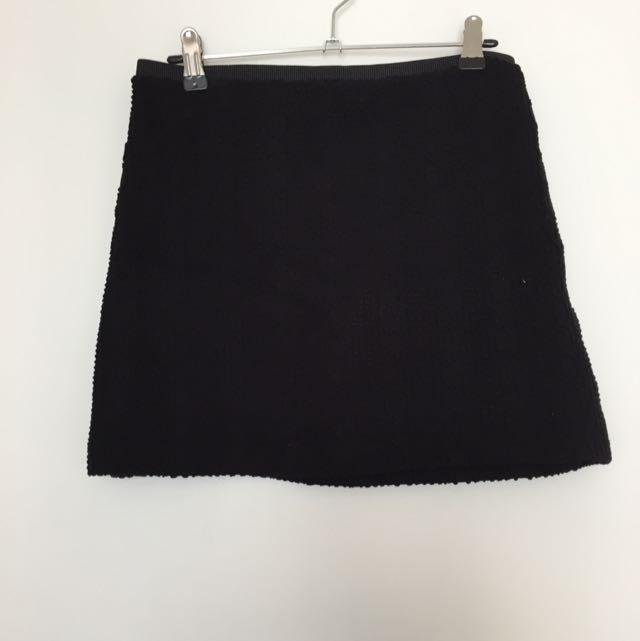 Black Handmade Skirt