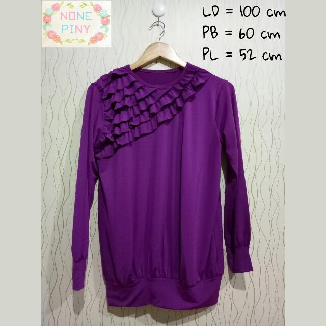 Blouse Purple Jersey