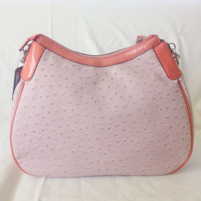 Blush Pink Guess Handbag