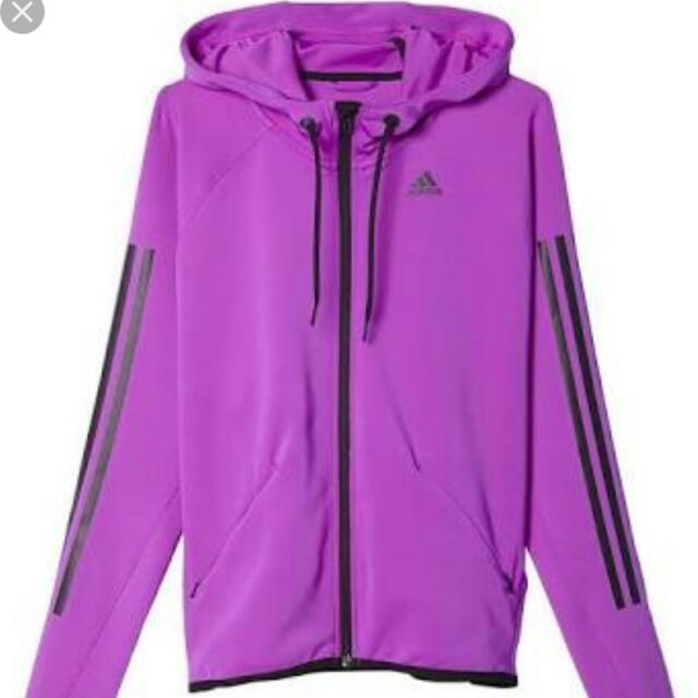 Brand New Adidas FZ Gym Hoodie