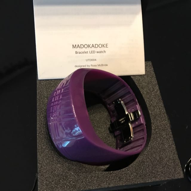 Brand New Madokadoke Bracelet Led Watch